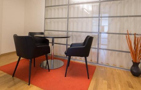 En perfekt plats för ett mindre möte hos oss på Kungsholmens Kontorshotell